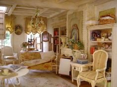 :) Doll house interior