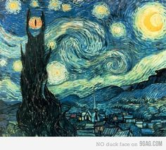 LotR- Nice! Maybe I should just collect all the geeked out Starry Nights. Have a Starry Night room one day. Awww yeah.