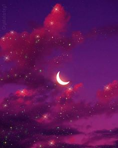 Magical night Follow me on Instagram for glitter art (click here 👉)@crystalartsy1