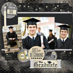 graduation scrapbooking |