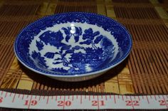 """Blue Willow Small Bowl - Made in China 3 7/8"""" Free Shipping! #Unknown"""