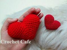 Video Class How to make a Beautiful Crochet 3D Puffy Heart Tutorial | The best ever ASMR - YouTube
