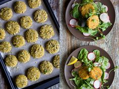 Curried Amaranth Patties Recipe Main Dishes with amaranth, water, onion, garlic, lemon zest, curry powder, sea salt, ground black pepper, large eggs, panko breadcrumbs, parmesan cheese, flat leaf parsley, oil, peanuts, peanuts, vegetables