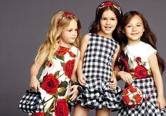 Dolce & Gabbana Coleção Infantil Verão 2015