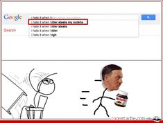 I hate it when Hitler steals my Nutella