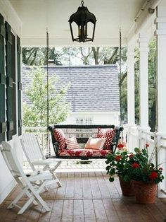Porch Swing by Anibelle