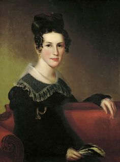 Portrait of a little black dress about 1820. Take that, Coco Chanel.