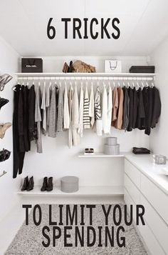 Do you find yourself spending too much on clothes? Do you want to reduce your spending and limit your wardrobe. Follow these 6 tricks to limit your spending