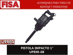 "PISTOLA IMPACTO 1"" UP 898-6B. Aconsejable para tarea de montaje y desmontaje- FERRETERIA INDUSTRIAL -FISA S.A.S Carrera 25 # 17 - 64 Teléfono: 201 05 55 www.fisa.com.co/ Twitter:@FISA_Colombia Facebook: Ferreteria Industrial FISA Colombia"