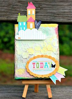 Christina Collins: Altered Canvas - Make Today A Sweet Memory