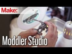Express your creative ideas in 3D! Go behind the scenes at Moddler with MAKE Magazine's video of their studio and see what they can do for industrial designers and more, including movie props!