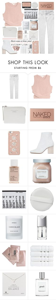 """SWEET SENSATIONS"" by glowing-eyes ❤ liked on Polyvore featuring Acne Studios, Jonathan Simkhai, Urban Decay, Michael Kors, Maison Margiela, Korres, Laura Mercier, Crate and Barrel, Byredo and Christian Dior"