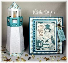 Father's Day Lighthouse Giftbox - The Crafting Secretary