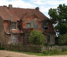 Abandoned Demyanskoe, East Prussia