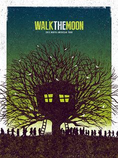 Walk The Moon by Jose Garcia