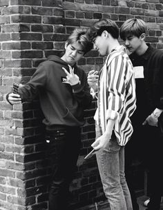Baekhyun, Kai and Chanyeol #EXO