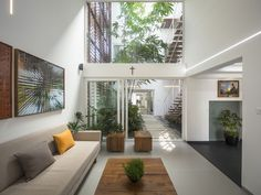 Gallery of The Breathing Wall Residence / Lijo.Reny Architects - 5