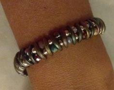 Βραχιόλι Beaded Jewelry, Jewellery, Diamond, Bracelets, Silver, Jewels, Pearl Jewelry, Schmuck, Diamonds