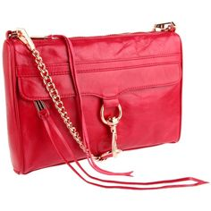 Rebecca Minkoff Mini MAC, Red with Rose Gold HW :D I actually need these. Been eyeing it for a solid year.
