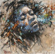 Original Portrait Painting by Evelyn Hamilton Sun Painting, Figure Painting, Here Comes, Figurative Art, Color Mixing, Hamilton, Modern Art, Saatchi Art, Original Paintings