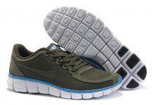 buy popular bd55e 18bcf Buy Men s Nike Free Running Shoes Dark Brown Blue White Online from  Reliable Men s Nike Free Running Shoes Dark Brown Blue White Online  suppliers.