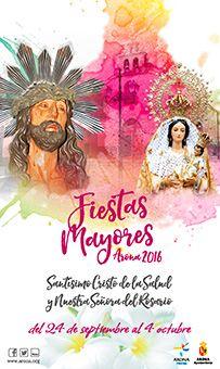 Fiestas Mayores de Arona 2016 en honor al Santísimo Cristo de la Salud y Ntra. Señora Virgen del Rosario.  24 de septiembre – 4 de octubre.