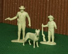 Rin Tin Tin Character Figures by Marxchivist, via Flickr