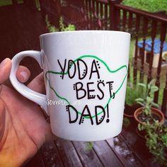 Yoda Best Dad Star Wars Mug