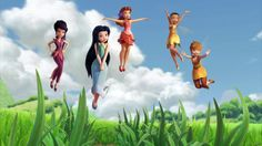 summer outfits Disney fairies vidia silvermist rosetta iridessa fawn tinkerbell and the great fairy rescue Tinkerbell Characters, Tinkerbell And Friends, Tinkerbell Disney, Disney Fairies, Disney Characters, Hades Disney, Disney Pixar, Walt Disney, Secret Of The Wings