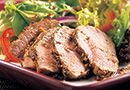 Grilled Asian Pork Tenderloin Salad - The Pampered Chef® **If you are gluten-free by preference, you should be fine with the Asian Seasoning Mix. If not, use an alternative Asian Seasoning or omit. **Sub Bragg liquid aminos for the soy sauce. Asian Seasoning, Seasoning Mixes, Pork Recipes, Cooking Recipes, Healthy Recipes, Pasta Recipes, Yummy Recipes, Food Dishes, Main Dishes