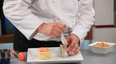 Тартар из лосося с ризотто - рецепт Уриэля Штерна