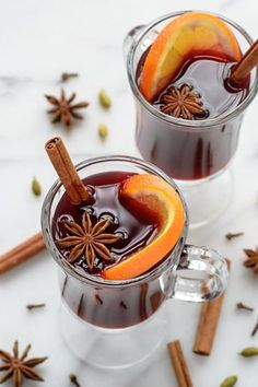 Mulled wine (or vin chaud, if you're feeling French and fancy) is the single greatest hot adult beverage of all time. While you're getting ready, toss a cheap bottle of red, some apple cider, brandy and a few other accoutrements into your slow cooker.