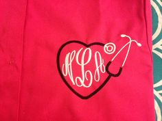 Hey, I found this really awesome Etsy listing at https://www.etsy.com/listing/188817786/custom-embroidered-and-monogrammed-scrub