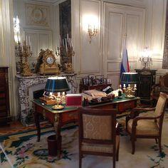 Hôtel d'Estrées - bureau de l'Ambassadeur