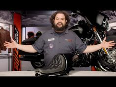 ▶ Roland Sands Cafe Tail Section Solo Seat Review at Revzilla.com - YouTube