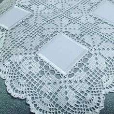 This Pin Was Discovered By Ter - Diy Crafts - maallure Crochet Bolero Pattern, Crochet Bedspread Pattern, Crochet Borders, Crochet Motif, Crochet Doilies, Hand Crochet, Easter Crochet Patterns, Vintage Crochet Patterns, Crochet Designs