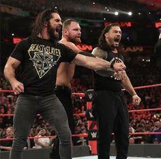 WWE RAW Feb-4-2019 Wwe Raw And Smackdown, Wrestlemania 29, Wwe Seth Rollins, Roman Reigns Dean Ambrose, Roman Regins, Wonder Twins, The Shield Wwe, Wwe Roman Reigns, My Superman