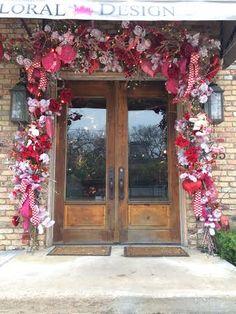 Add a little LOVE to your front door! | Regina Gust