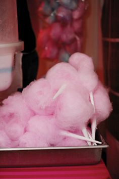 Pink cotton candy. Photo by Chelsea Beck Photography. #pink #cottoncandy