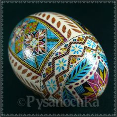 Real Ukrainian Pysanka Goose Pysanky Best by Halyna by Pysanochka