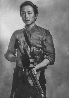 Walking Dead Characters Season 6 wallpaper | Walking-Dead-Season-6-silver-cast-portrait-03 - Daily Dead