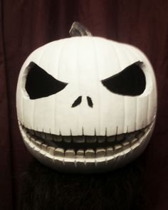 """Jack Skellington Pumpkin Carving """"The Pumpkin King"""" #halloween #Nightmare_Before_Christmas"""