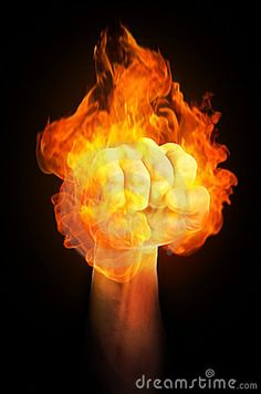 Fist on fire. A strong holding fist is on fire , Grey And White Kitten, White Kittens, Fire Stock, Kitten Photos, Himalayan Salt Lamp, Royalty Free Stock Photos, In This Moment, Illustration, Strong