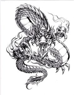 awesome Tattoo Trends - Awesome Dragon Tattoo Designs for Men...