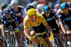 Britain's Tour de France winner Bradley Wiggins on riding up the Champs Elysées in the yellow jersey Bradley Wiggins, Champs Elysees, Road Racing, Football Fans, Bloomsbury, Kickboxing, Cycling, Tours, Sports