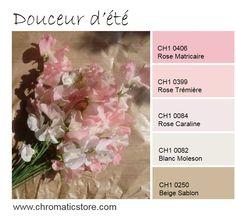 Ambiance romantique pour cette association de roses frais et de beige inspiré du kraft. www.chromaticstore.com #deco #rose #pastel