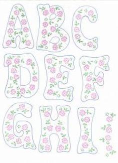 patrones de letras   Aprender manualidades es facilisimo.com