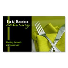 207 Best Catering Business Cards Images On Pinterest Catering