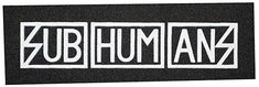 DIY Crust Punk Patch The Exploited Dead Kennedys Misery Antisect SUBHUMANS
