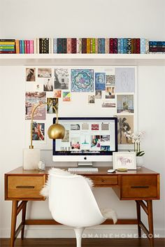 E! Chief News Correspondent Melanie Bromley transforms a dated 1957 house into a clean, colorful, and contemporary home.